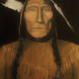 Larry E Lamb -  Wolfs Robe 1909 original sold