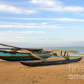 Sri Lanka catamaran by Karin Stein