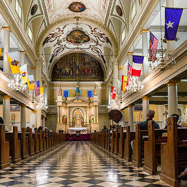 St. Louis Cathedral by Steve Harrington
