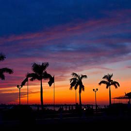 Sunrise at Sisowath Quay by David Freuthal