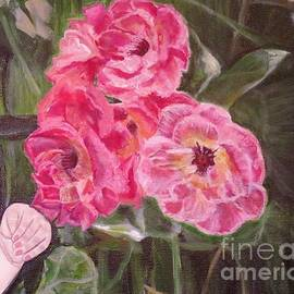 Kimberlee Baxter -  Touch of the Roses Painting