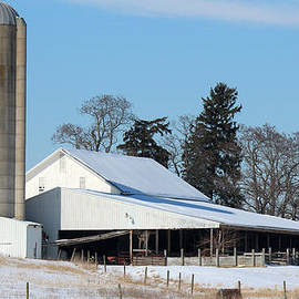 Wayne County Dairy Farm by R A W M