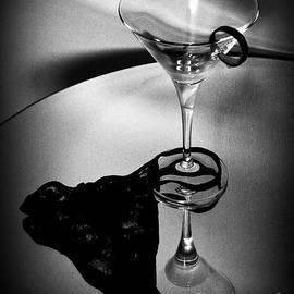 Martini Glass Charm by Linda Bianic