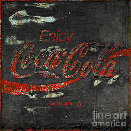John Stephens -  Coca Cola Sign Grungy