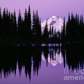 Glacier Peak  in Image Lake by Tracy Knauer