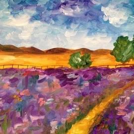 Malia Zaidi - A Field in Provence