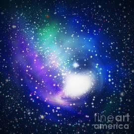 ATIKETTA SANGASAENG - abstract galaxy