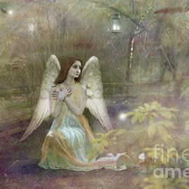 Angel  Tarantella - Angel in the garden