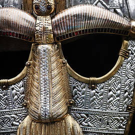 Tim Gainey - Anglo Saxon Helmet Detail