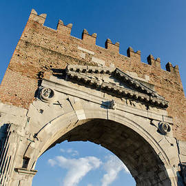 Arch Of Augustus by Andrea Mazzocchetti