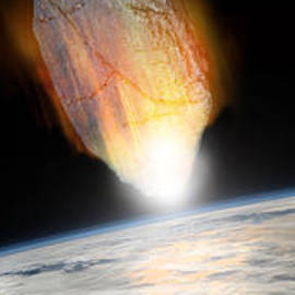 Asteroid Strike No.1pano  by Marc Ward