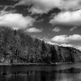 Bald Mountain Pond in the Adirondack Mountains by David Patterson