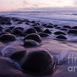 Beauty Of California Bowling Ball Beach 1 by Bob Christopher