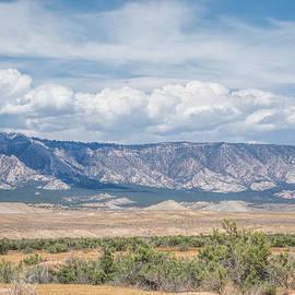 Blue Mountain Range by Jeanne May