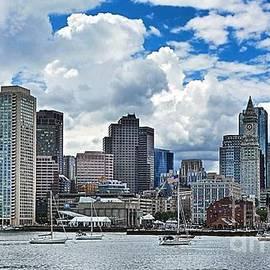 Julia Springer - Boston Harbor