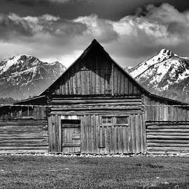 Dan Sproul - John Moulton Barn And Teton Range