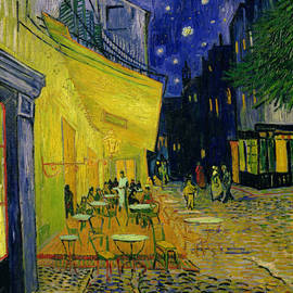 Cafe Terrace Arles by Vincent van Gogh