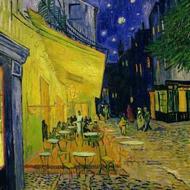 Cafe Terrace Arles by Vincent van Gogh