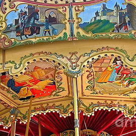 France  Art - Carcassonne Carousel