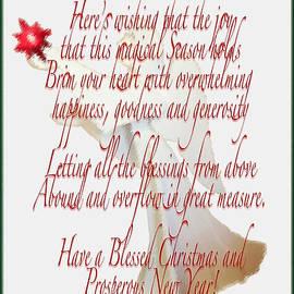 Debra     Vatalaro - Christmas New Year Wishes