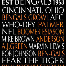 Cincinnati Bengals by Jaime Friedman