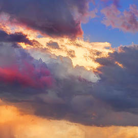 James BO  Insogna - Cloudscape Sunset Touch Of Blue