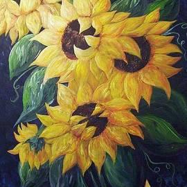 Eloise Schneider - Dancing Sunflowers