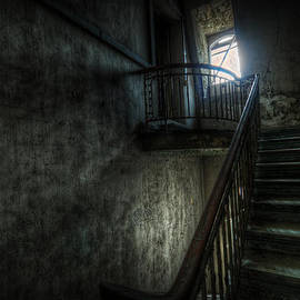 Dark steps  by Nathan Wright