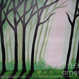 Jnana Finearts - Day Light in Dark forest