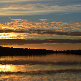 Dingle sunset by Barbara Walsh