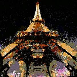 Eiffel Tower by Dragica  Micki Fortuna