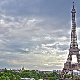 Eiffel Tower by Pravine Chester