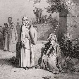 Gustave Dore - Eliezer and Rebekah