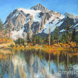 Mary Ellen Anderson - Fall Reflections - Cascade Mountains