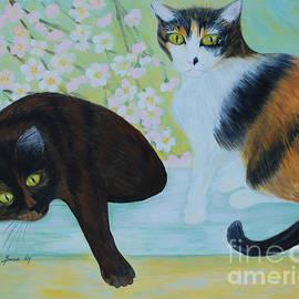 Feline Friends. Inspirations Collection. by Oksana Semenchenko