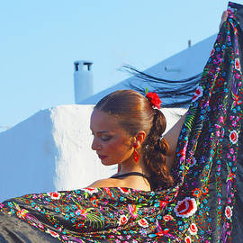 Flamenco dancer by Digby Merry