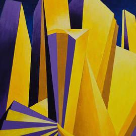 Golden City 2 by Cheryl Fecht