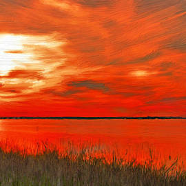 Bruce Nutting - Golden Sunset