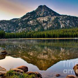 Robert Bales - Gunsight Mountain Reflection
