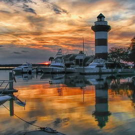 Harbour Town Sunset by Dale Kauzlaric