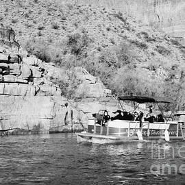 Joe Fox - hualapai nation river tours on colorado river bottom of the grand canyon Arizona USA