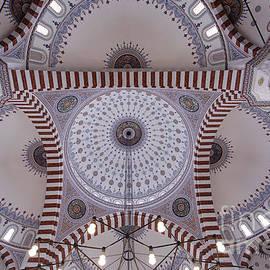 Robert Preston - Inside the Azadi mosque at Ashgabat in Turkmenistan