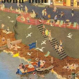 The Advertising Archives - John Bull 1949 1940s Uk Holidays