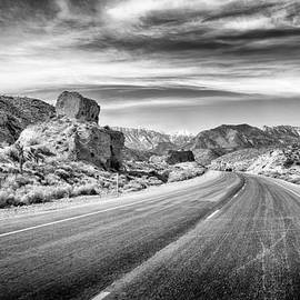Kyle Canyon Road by Howard Salmon