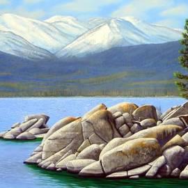 Lake Tahoe Sand Harbor by Frank Wilson