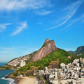 Leblon Beach In Rio De Janeiro by Gonzalo Azumendi