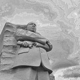 Martin Luther King Jr Memorial # 4 by Allen Beatty