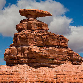 Mexican Hat Rock by Gene Norris