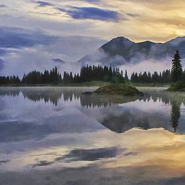 Priscilla Burgers - Molas Lake Sunrise