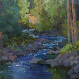 Morning At Swauk Creek by Diane McClary